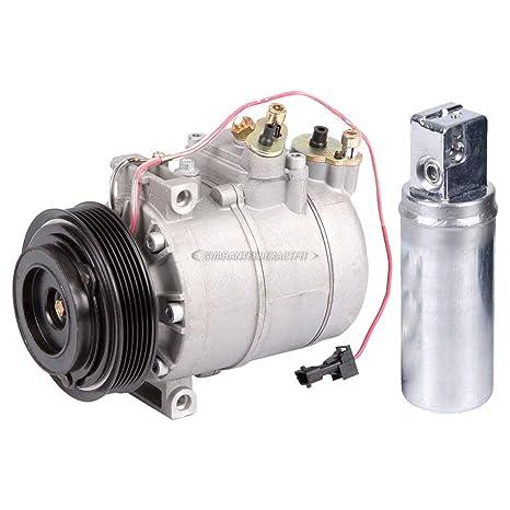 Premium calidad nueva AC Compresor y embrague con a/c secador para Saab 9 –