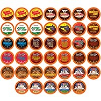 40 Count Two Rivers Hot Cocoa Sampler Pack, Single-Cup for Keurig K-cup Brewers