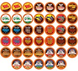 hot chocolate kcups variety - Two Rivers Hot Cocoa Sampler Pack, Single-Cup for Keurig K-cup Brewers, 40 Count