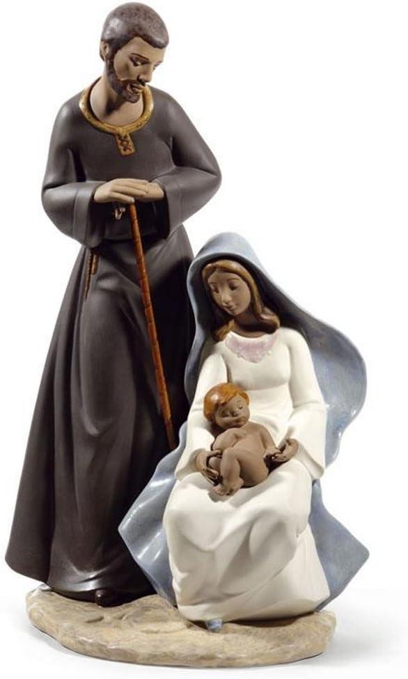 La Sagrada Familia Figura de Porcelana de la gres colección