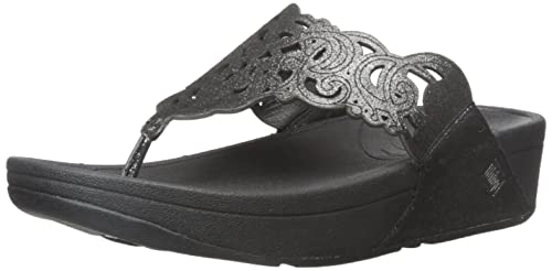 4a660a0fcffab7 fitflop Women s Flora Sparkle Flip Flop  Amazon.ca  Shoes   Handbags