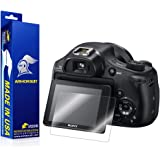 ArmorSuit MilitaryShield - Sony DSC-HX400V Camera Screen Protector Anti-Bubble Ultra HD - Extreme Clarity & Touch Responsive Shield w/ Lifetime Replacements