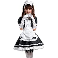 AvaCostume Women's Anime Cosplay French Apron Maid Fancy Dress