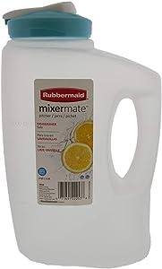Rubbermaid 7E59RDCHILI MixerMate Pitchers--3 QT - Random Colors