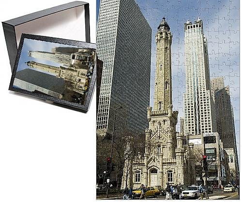 Historic Water Tower (Photo Jigsaw Puzzle of The historic Water)