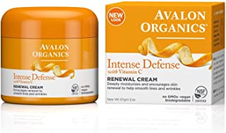 product image for Avalon Organics Intense Defense Renewal Cream, 2 oz. (Pack of 2)