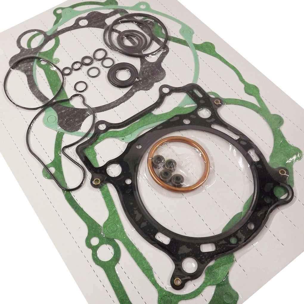 Kongnijiwa Joint Kit Haut et Bas Fin Set Kit Convient pour Yamaha YFZ450 YFZ 450 2004-2009 Accessoires Moto
