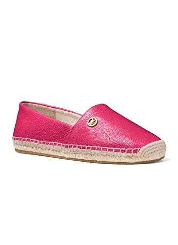 cf7943131 Amazon.com: MICHAEL Michael Kors Kendrick Slip-On Espadrille Flats (6.5 M  US, Ultra Pink): Shoes