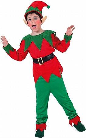 Fyasa 705937-t03 elfo disfraz, tamaño mediano: Amazon.es: Juguetes ...