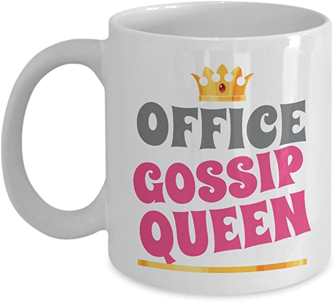 Womens Funny Queen Of The Fucking Universe Gift Coffee Mug