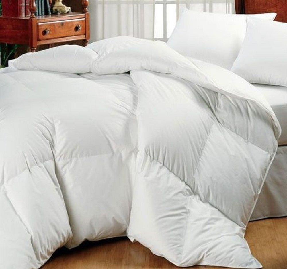Super Oversized - Down Comforter - Fits Pillow Top Beds - Queen 92'' x 96'' - Exclusively by BlowOut Bedding RN #142035