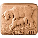 Goat and Kid Goat Milk Milky Way Soap Mold - Clear PVC - Not Silicone