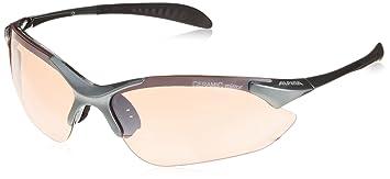 Alpina Erwachsene Tri-Quatox Outdoorsport-Brille, Black, One Size