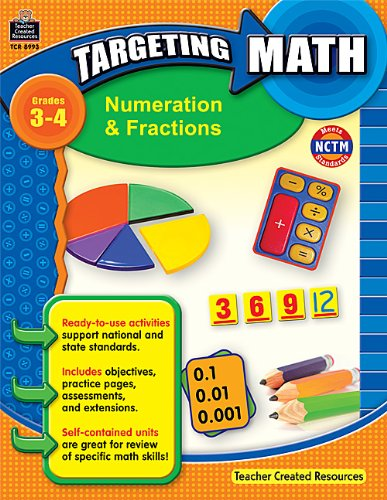 Download Targeting Math: Numeration & Fractions PDF