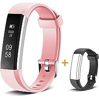 Muzili Pulsera de Actividad Inteligente Fitness Tracker Impermeable Pulsera Actividad Reloj Deportivo con Podometro…