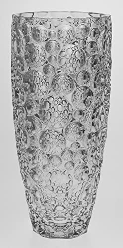 Lisboa Bubble Design Glass Vase