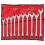 ITC 10-Piece Jumbo S.A.E. Combination Wrench Set, 20202