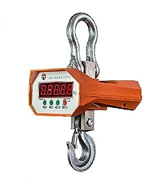 1000 kg (1 tonelada) Digital para colgar báscula de grúa electrónica Wirless Industrial Crane