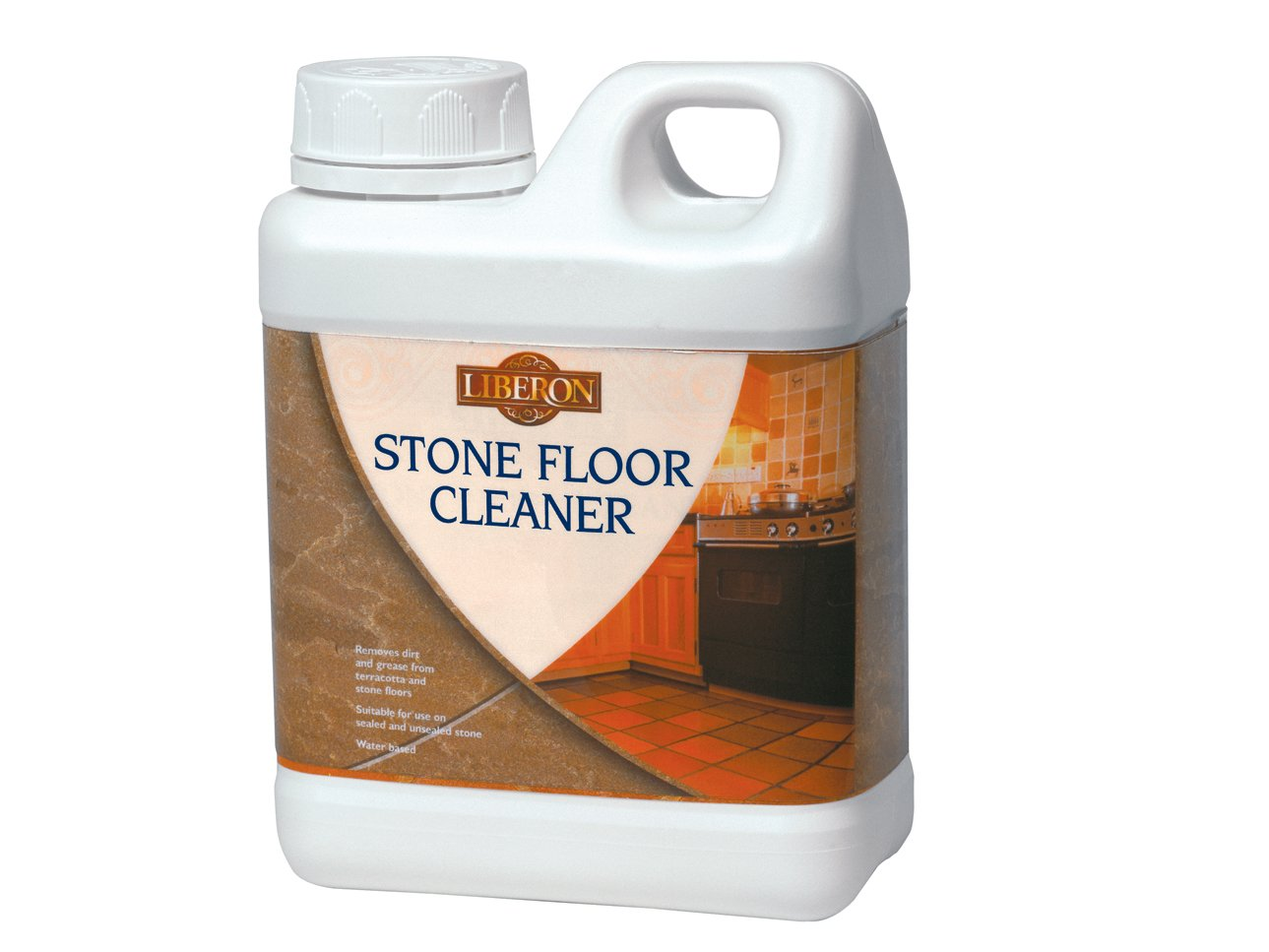 Liberon FCS1L 1L Stone Floor Cleaner  Amazon co uk  DIY   Tools. Exterior Stone Floor Products. Home Design Ideas