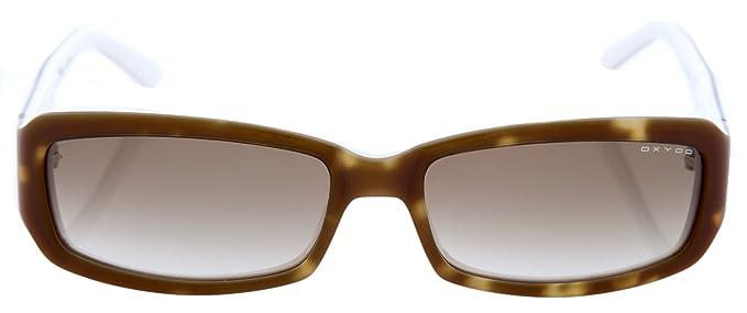 Oxydo - Gafas de sol - para mujer Hellbraun Tortoise: Amazon ...