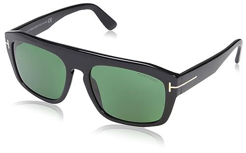 Amazon.com: Tom Ford Mujer tf470 Gafas de sol, Color negro ...