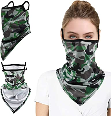 Bandana for Men Women Half Face Mask Neck Warmers Gaiters for Sun