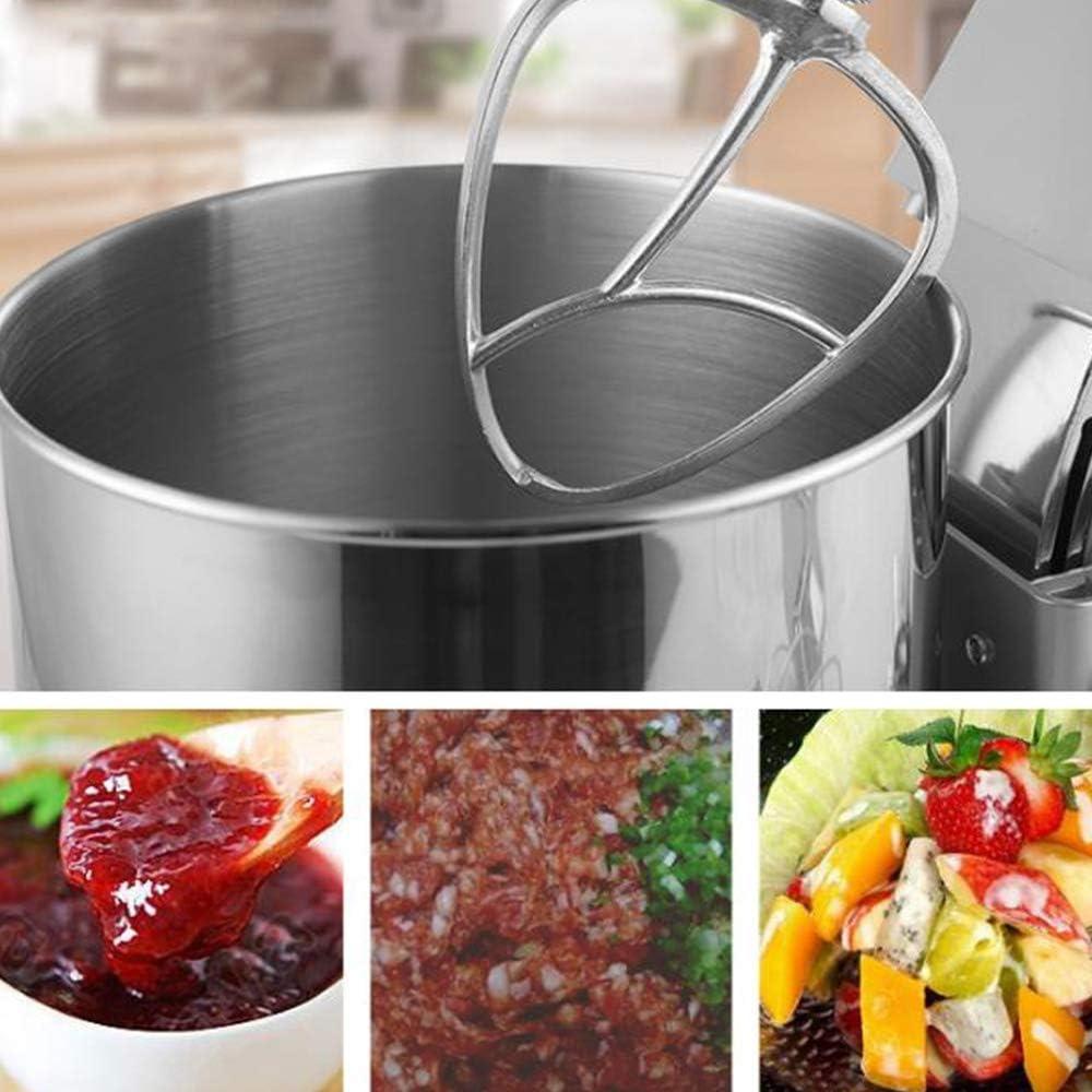 CPAZT 7 litros 1000W Alimentación batidora de pie con el Cuenco Mezclador 8 Velocidad de la Torta con el Gancho amasador, el batidor de Alambre, batidor YCLIN: Amazon.es