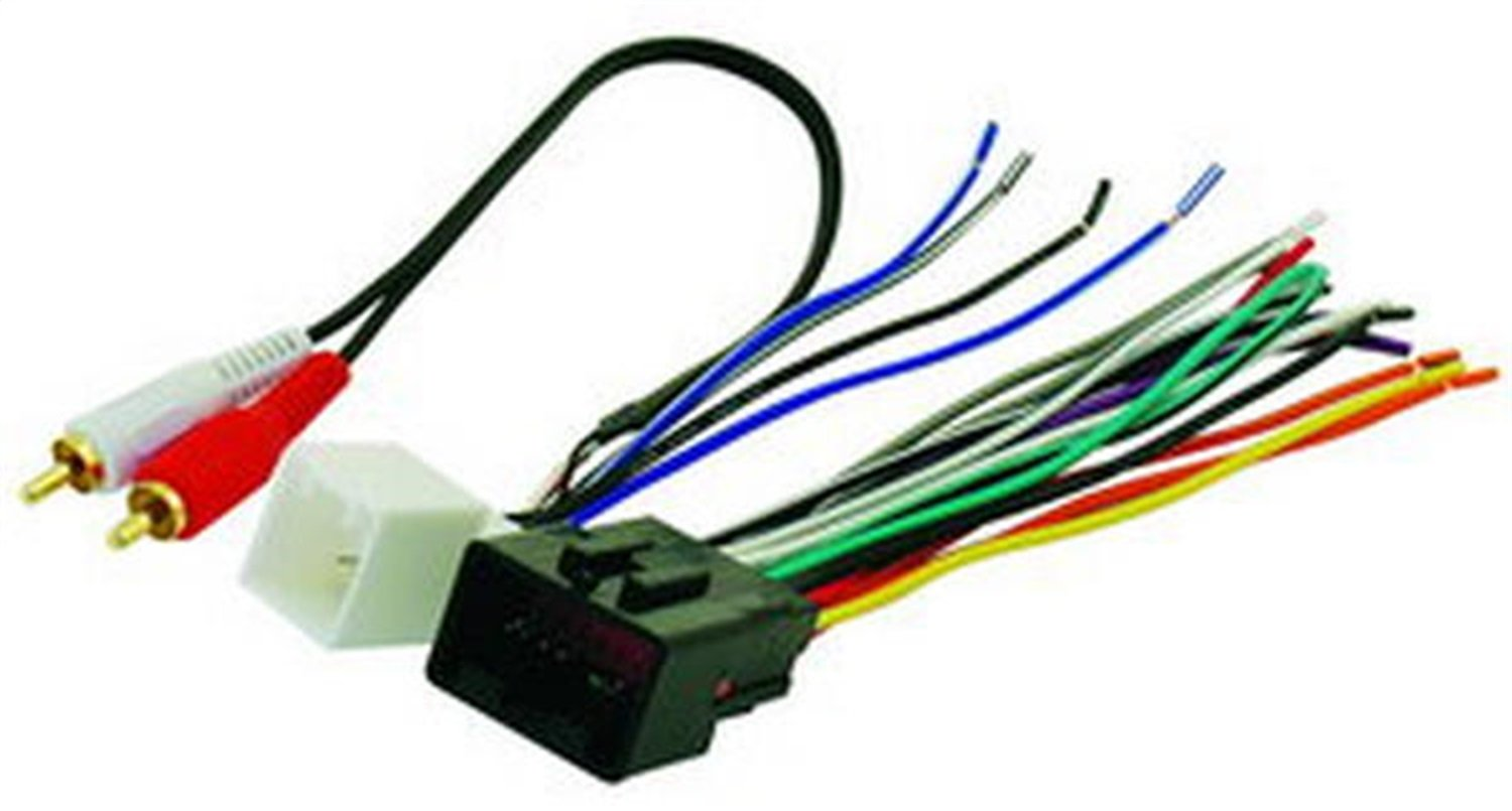 Amazon.com: Scosche FDK13B Amplifier Replacement Harness for Select 2000-Up  Select Ford & Lincoln Vehicles: Car Electronics