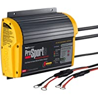ProMariner 43008 Marine Battery Charger ProSport On-Board 8 Amp 2 Bank Electronics Accessories