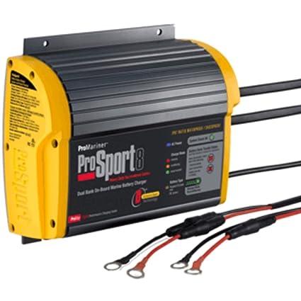 Amazon.com: Promariner Prosport – 8 gen 3 8 Amp – 2 Banco ...