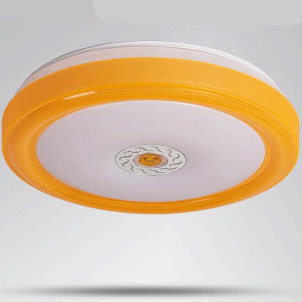 Deckenleuchte,Orange Balkon Schlafzimmer Deckenleuchte LED ...