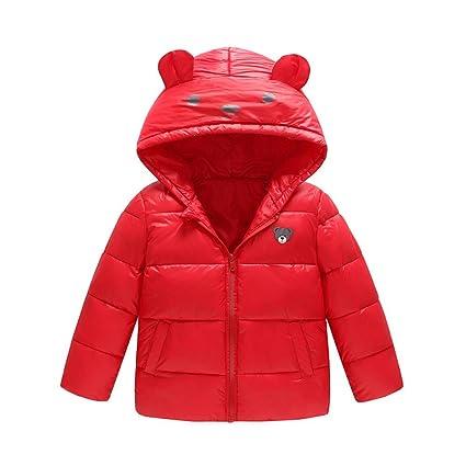 Giacca Bambina Elegante Cappotto Bimba Elegante Invernale Cappotto Bambino  1 2 3 4 Anni Bambino Ragazze 6ee68ecf572