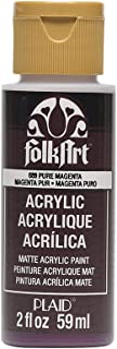 product image for FolkArt Acrylic Paint in Assorted Colors (2 oz), 689, Pure Magenta
