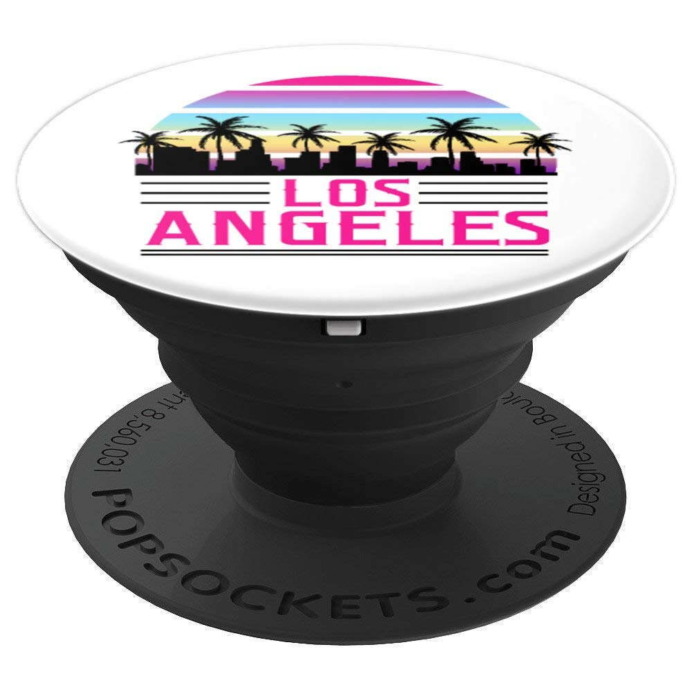 Los Angeles L.A. California Family Vacation Travel - PopSockets Grip and Stand for Phones and Tablets