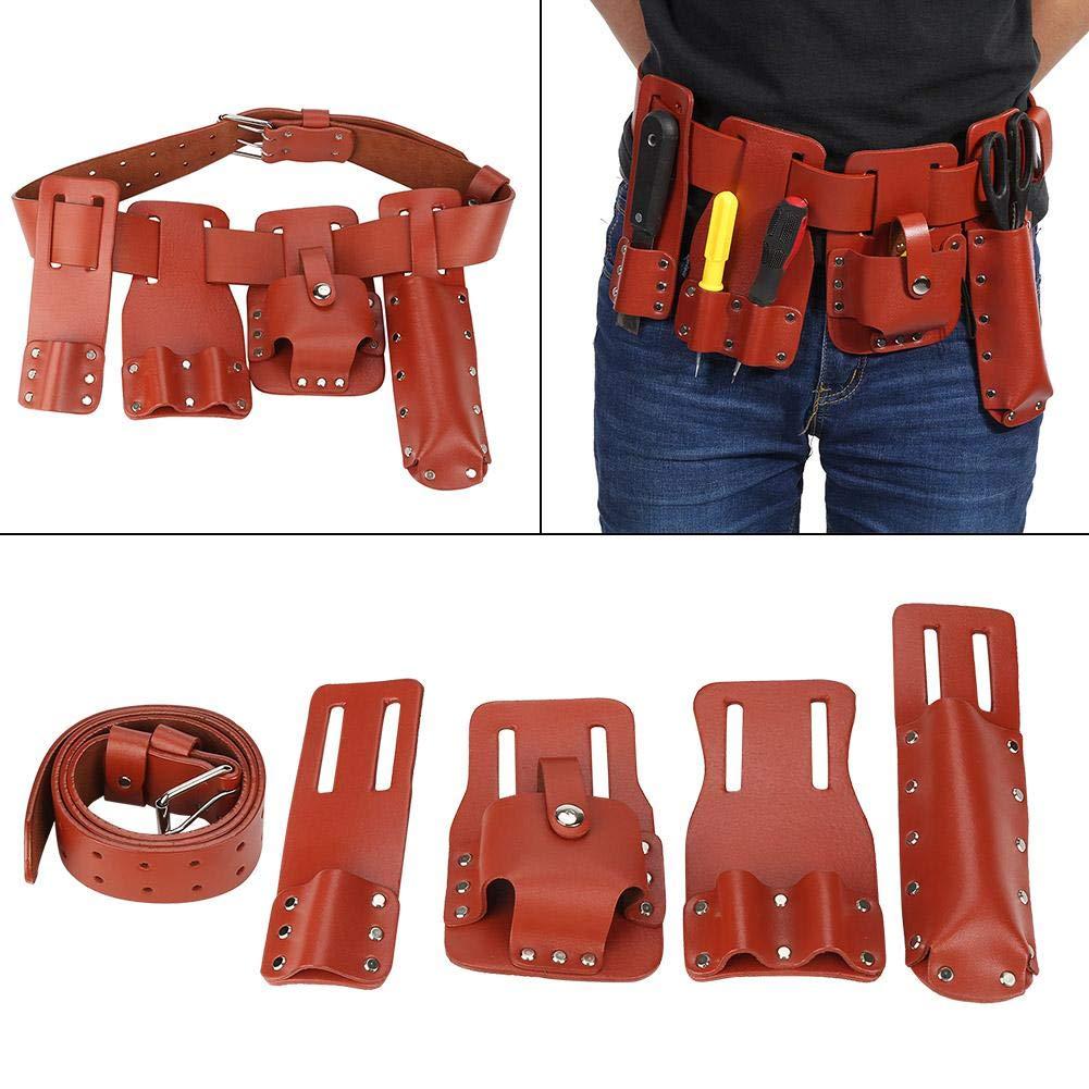 Hammer Holder Hi Viz Scaffold Leather Tool Belt Original QUality Heavy Duty