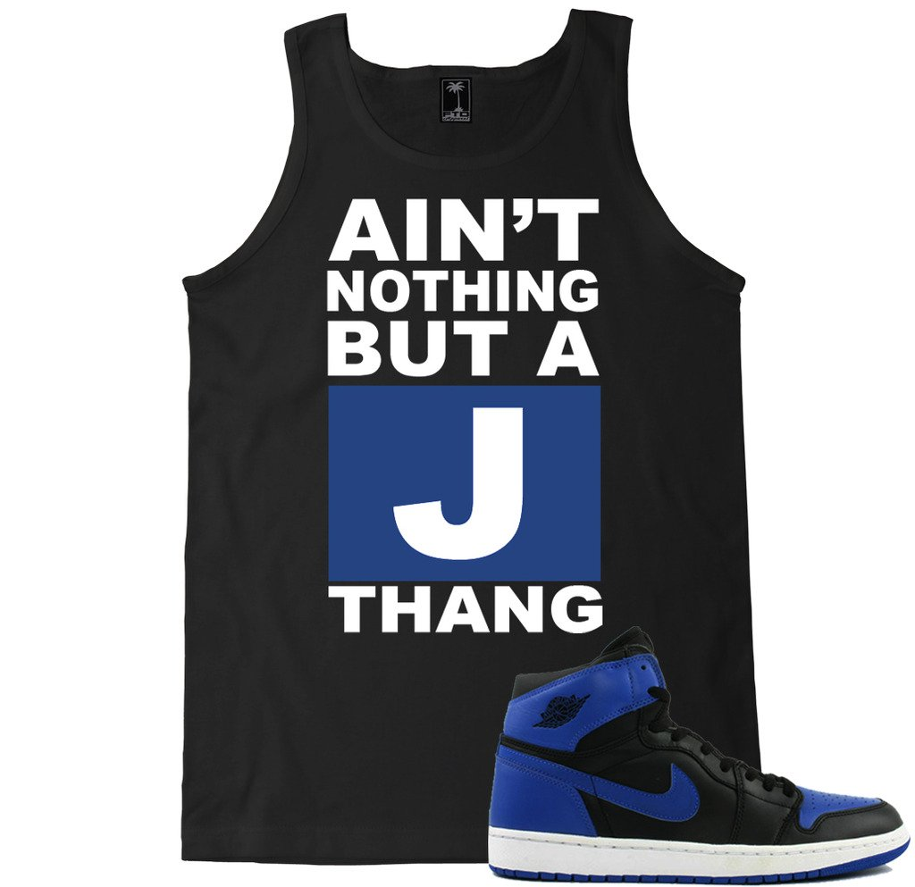 Ain't Nothing But A J Thang Blue Shirts