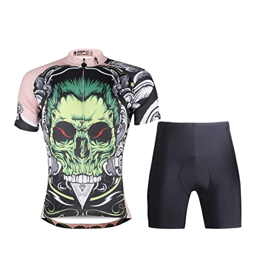 YGBH Jerseys se Adapta a triatlón, Bicicleta, Manga Corta ...