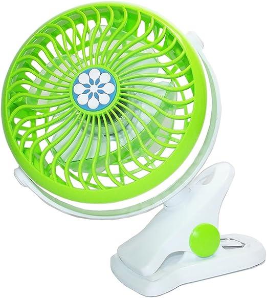Ventilador Portátil de Mesa con Pinza Clip ventilador recargable ...