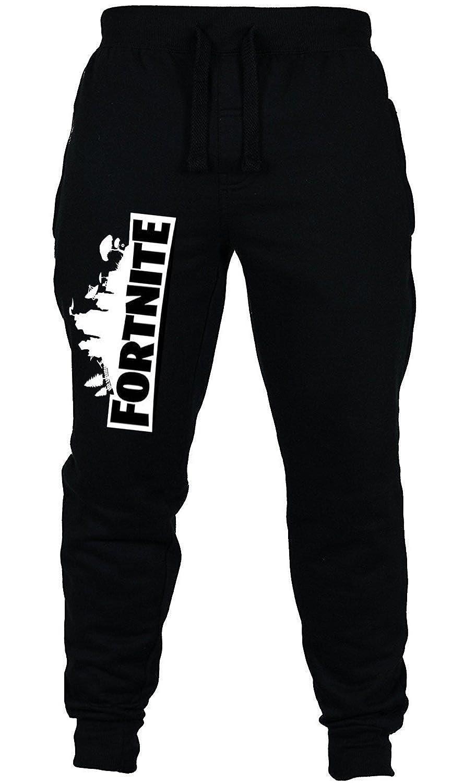 BESTHOO Unisex Fortnite Logo lettere Stampata Casual Pantaloni Lunghi per Bambini e Adolescenti