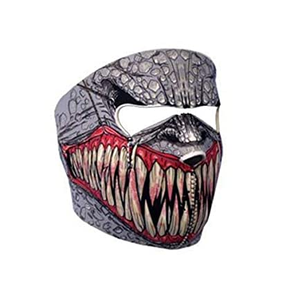 Fang Face Neoprene Face Mask FACE TEETH HEADWEAR