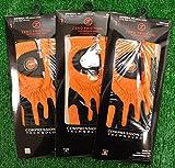 3 Zero Friction Men's Left Hand Universal Golf Gloves - Denver Broncos - Orange