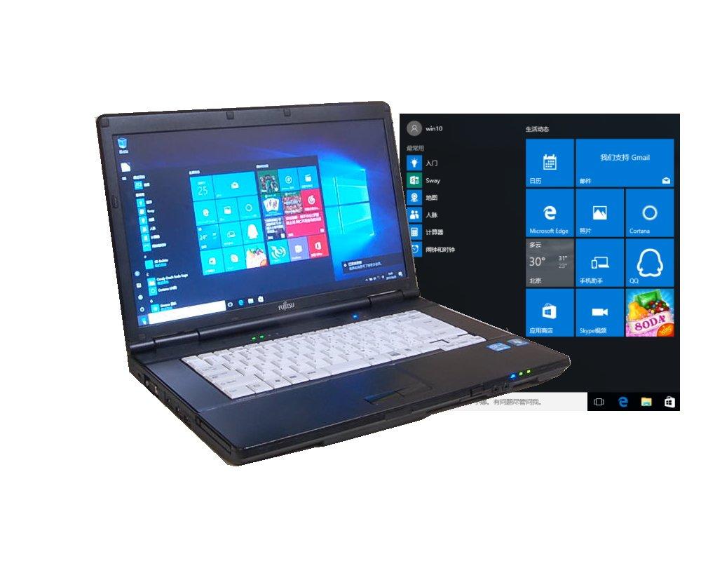 中古ノートパソコン  互換OFFICE付属  中国語版WINDOWS10クリーンインストール FUJITSU A561 すぐに使えます 高速Core I5搭載 無線 DVD【中古】   B01N2MT7OJ