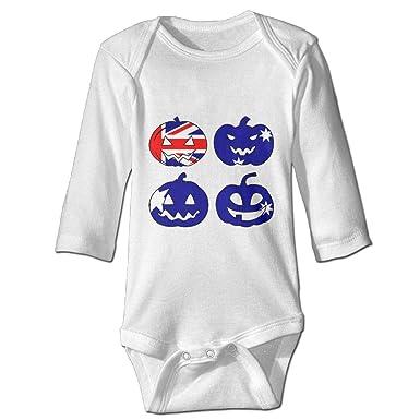 e4fae8c5e153 Amazon.com  Infant Baby Girls Boys Long Sleeve Bodysuit