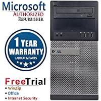 Dell 7010 Business High Performance Tower Desktop Computer PC (Intel Core i5 3450 3.1G,16G RAM DDR3,1TB HDD,DVDRW,Windows 10 Professional)(Certified Refurbished)