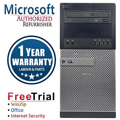 AST Dell 7010 Business High Performance Tower Desktop Com...