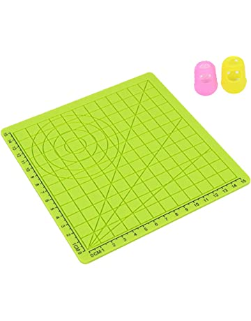 3D Printer Parts & Accessories 3D Printer Parts & Accessories kesoto Silicone Mat for 3D Printing Pen Drawing & Designing Including Two Silicone Finger Caps Blue C