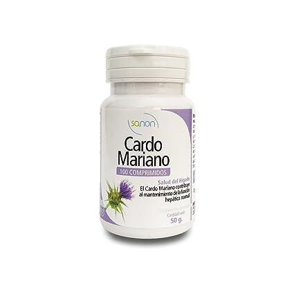 SANON - SANON Cardo Mariano 100 comprimidos de 500 mg
