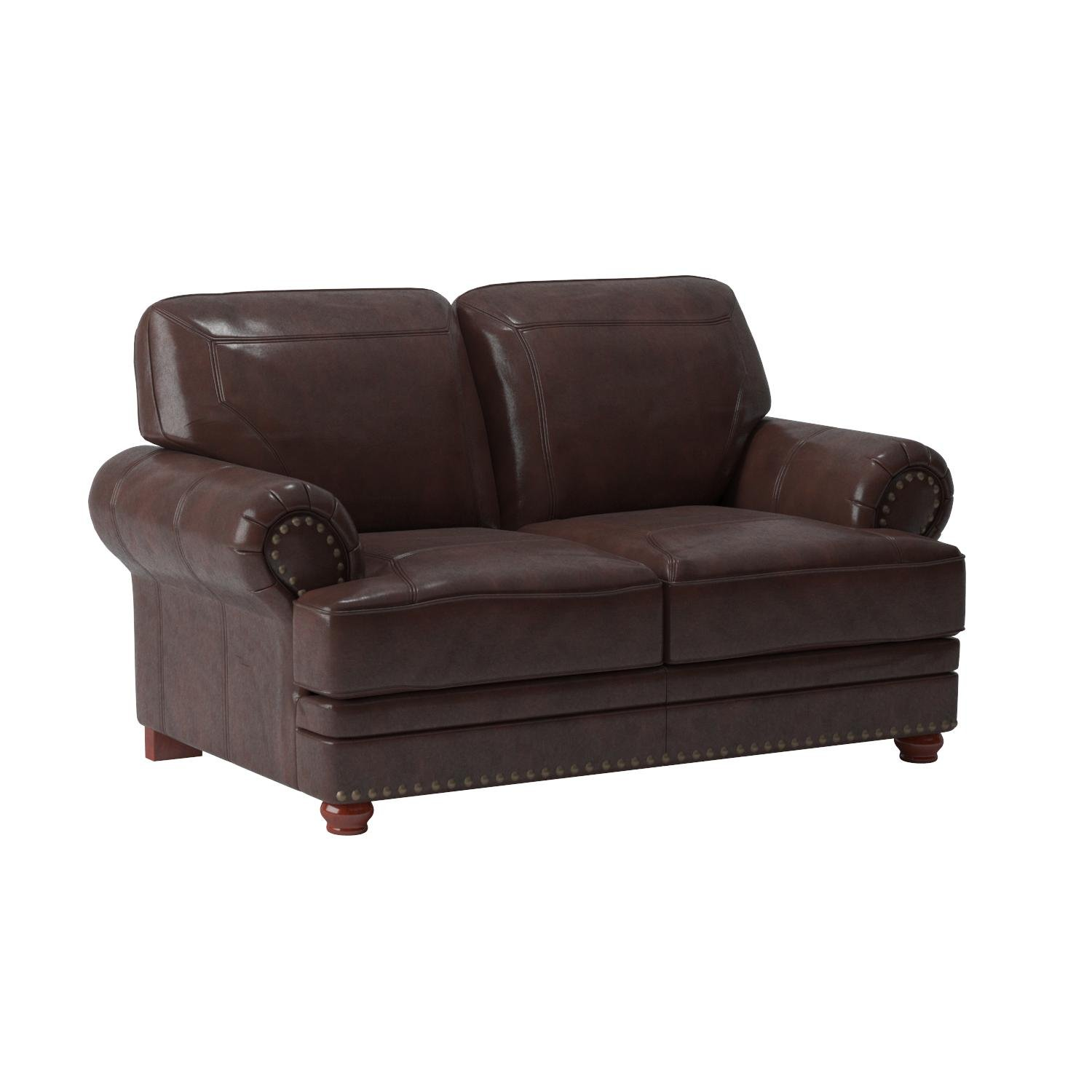 Coaster Home Furnishings 504412 Traditional Loveseat, Brown