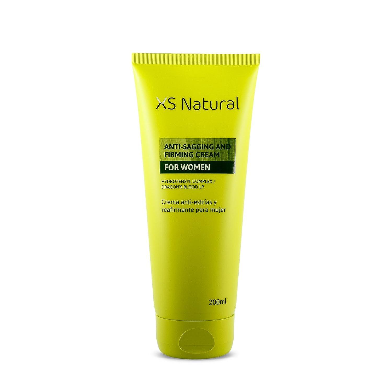 XS Natural - Crema Antiestrías y Reafirmante de la Piel para mujer: Amazon.es: Belleza