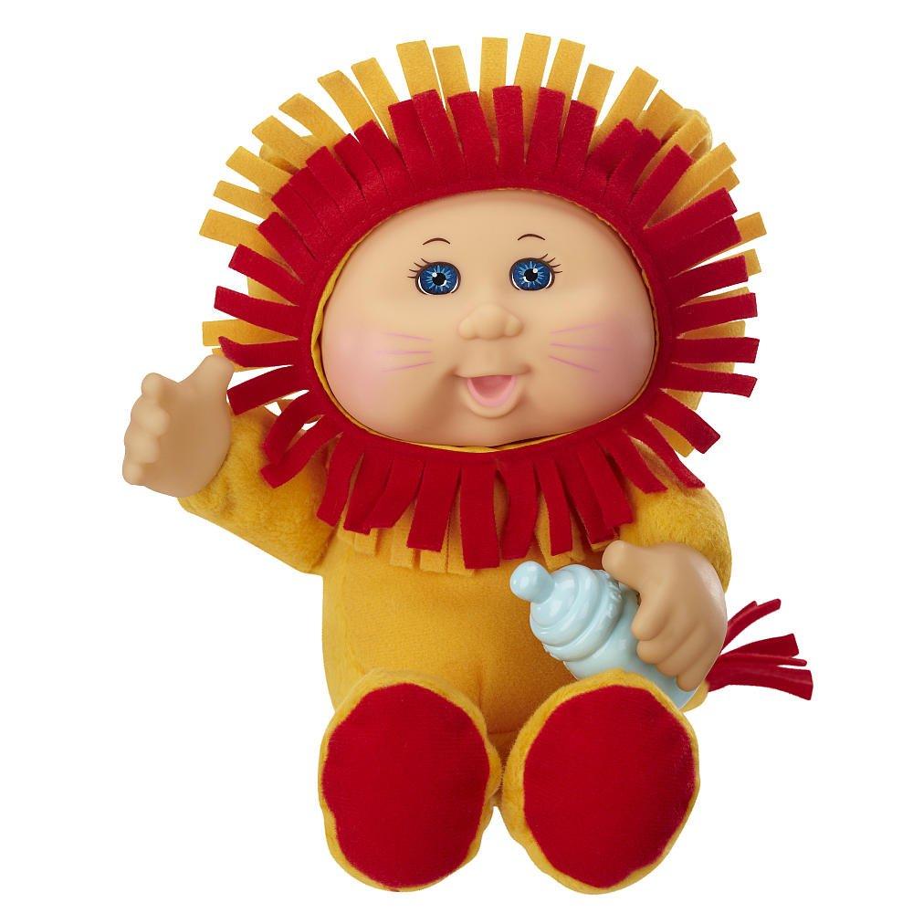 amazon com cabbage patch kids cuties born to be wild cuties lion